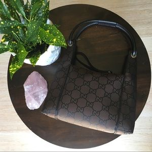 Gucci Bags - 💯 Authentic NYLON GUCCI MONOGRAM TOTE